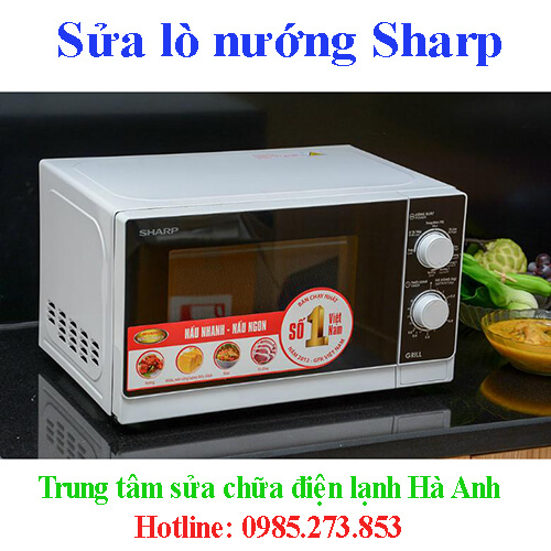 Sửa lò nướng Sharp