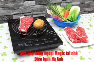 Sửa bếp hồng ngoại Magic