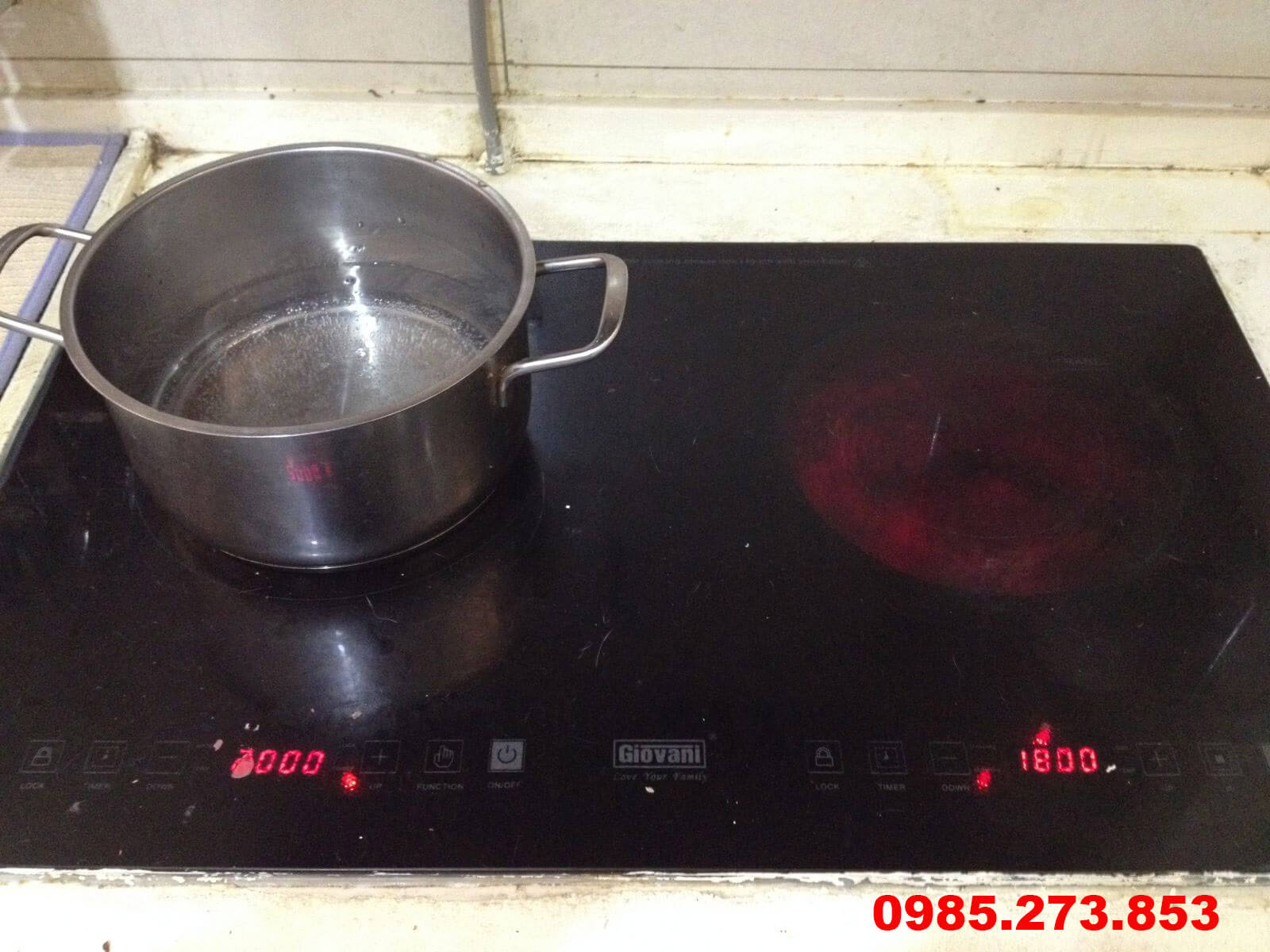 Sửa bếp từ Giovani