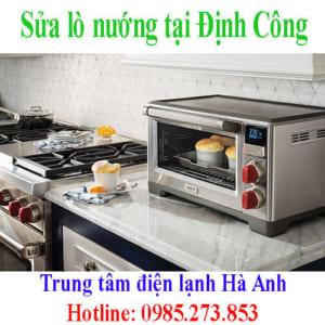 Sửa lò nướng tại Định Công