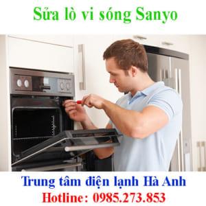 Sửa lò vi sóng Sanyo