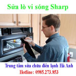 Sửa lò vi sóng Sharp
