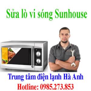 Sửa lò vi sóng Sunhouse
