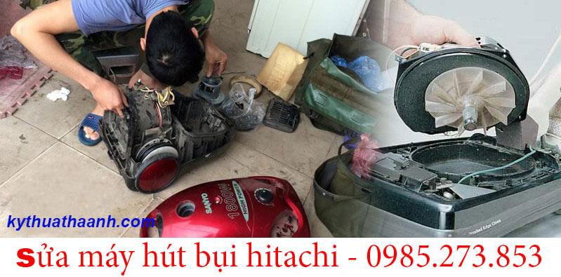 Sửa máy hút bụi Hitachi giá rẻ