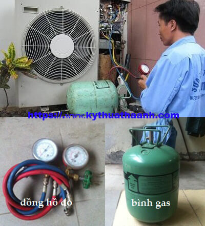 Nạp gas điều hòa Funiki