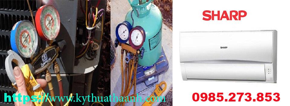 Nạp gas điều hòa Sharp