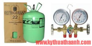 Nạp gas điều hòa giá bao nhiêu