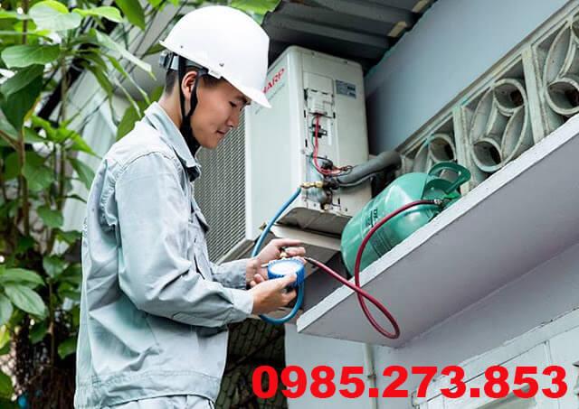 Nạp gas điều hòa tại Định Công