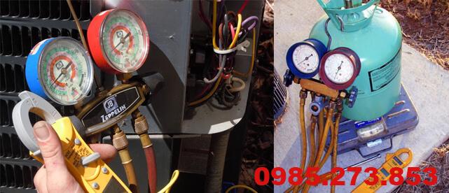 Nạp gas điều hòa tại Lê Trọng Tấn