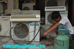 Nạp gas điều hòa tại Tân Mai