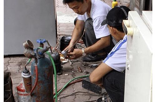 Nạp gas điều hòa tại Tôn Thất Tùng