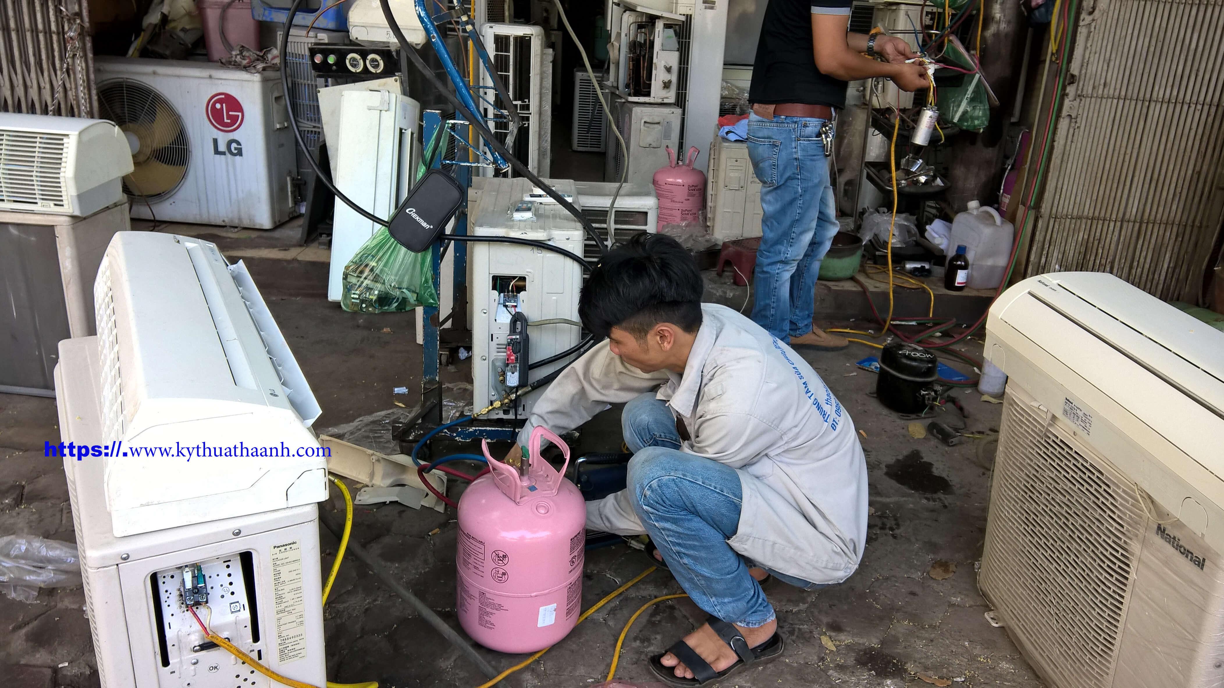 Nạp gas điều hòa tại Trường Chinh