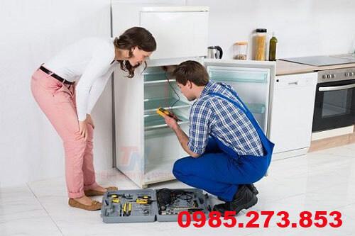 Nạp gas tủ lạnh Sharp