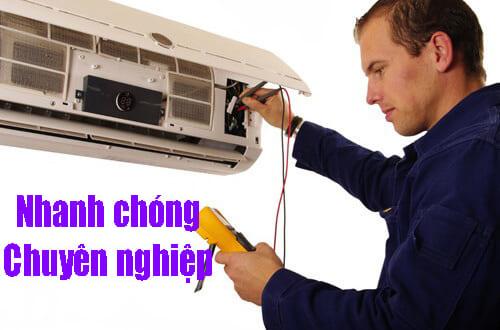 Sửa điều hòa không mát tại nhà